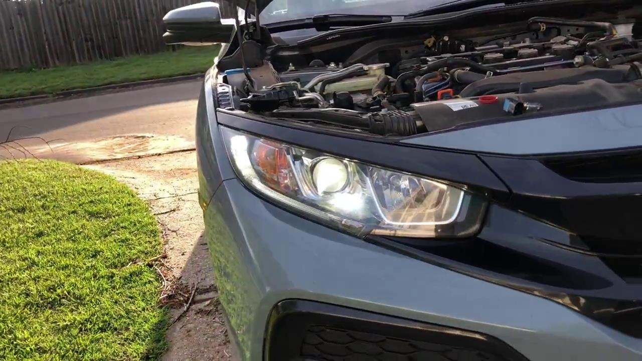 The Guide to Replace Car LED Headlight Kit in Honda Civic