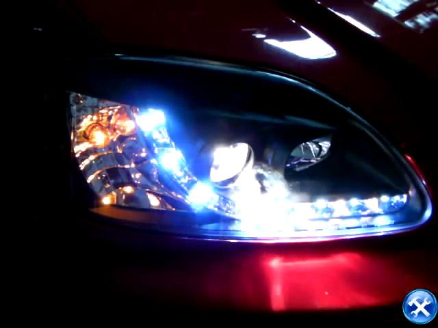 How to Replace 6th Gen Honda Civic R8 Style Projector Headlight